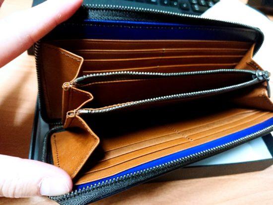 ユハク(財布)YPF114(Blue)550購入レビュー